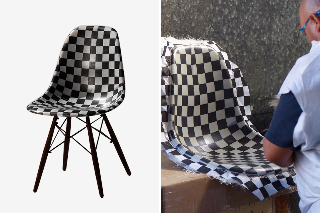 Modernica x Vans Vault Limited Edition Shell Chair  HiConsumption