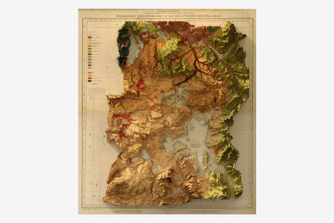 3D Historic Topographic Maps