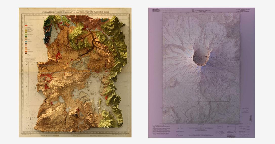 3D Historic Topographic Maps