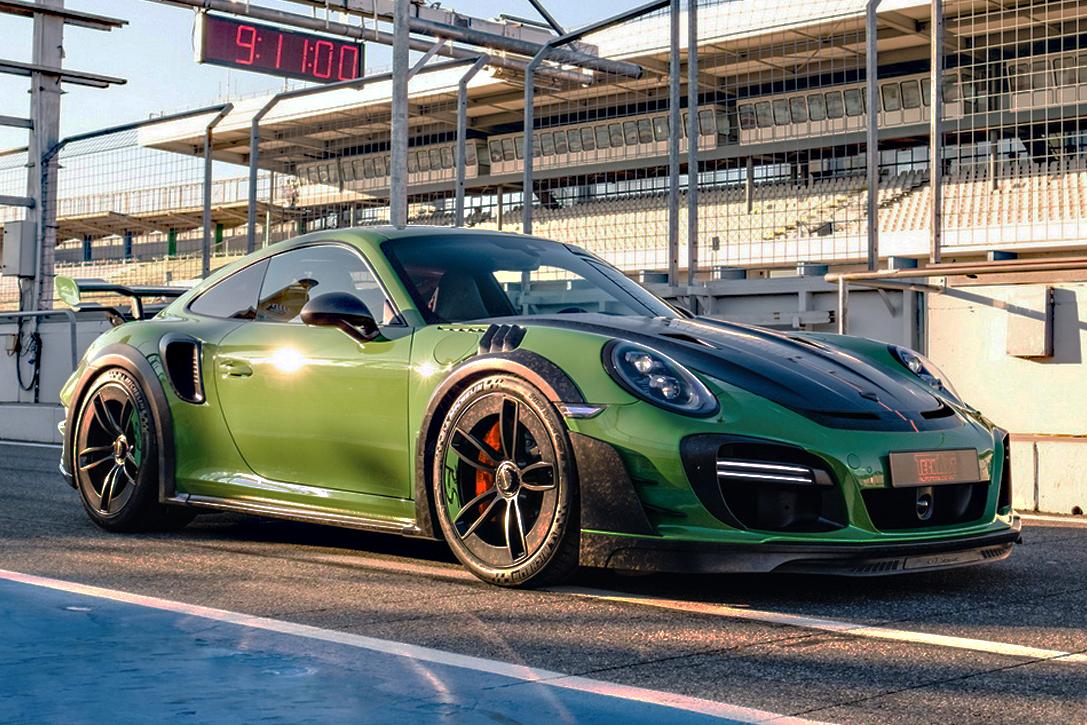 Duitse tuners onthullen monsterlijke versie van Porsche 911 Turbo S