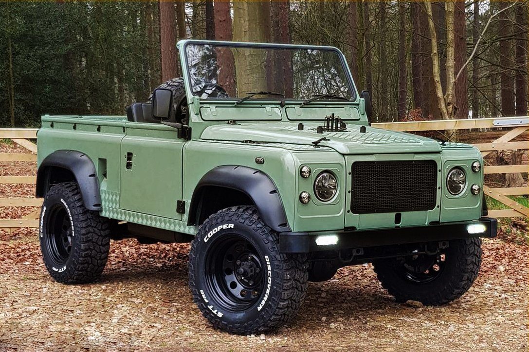 1993 Land Rover Defender 90 Pickup Hiconsumption