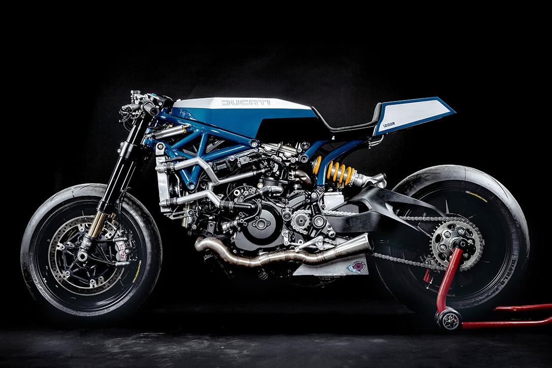 """2016 Ducati """"Pandora"""" By Young Guns Speed Shop"""