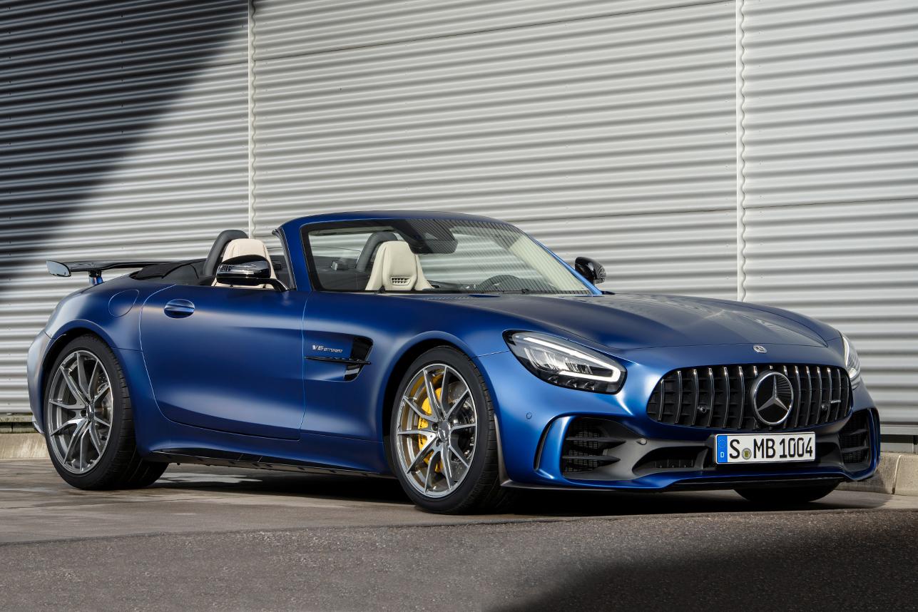 Mercedes-AMG presenteeert Limited Edition van de GT R Roadster