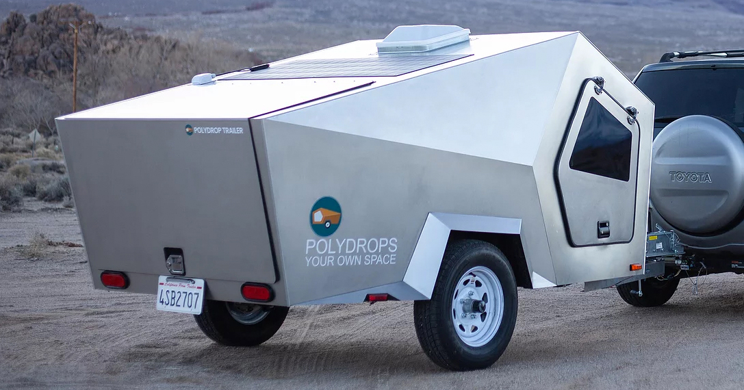 Escape Your Digital World With The Solar-Powered Polydrop Limited-Edition Trailer