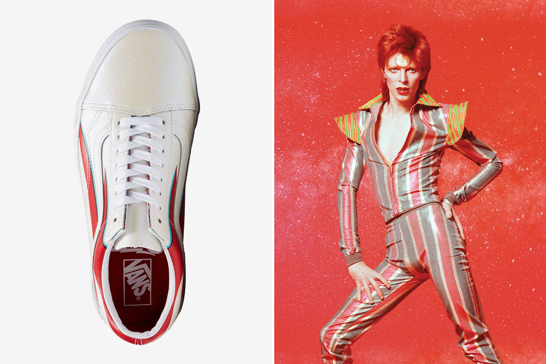 sneakers david bowie