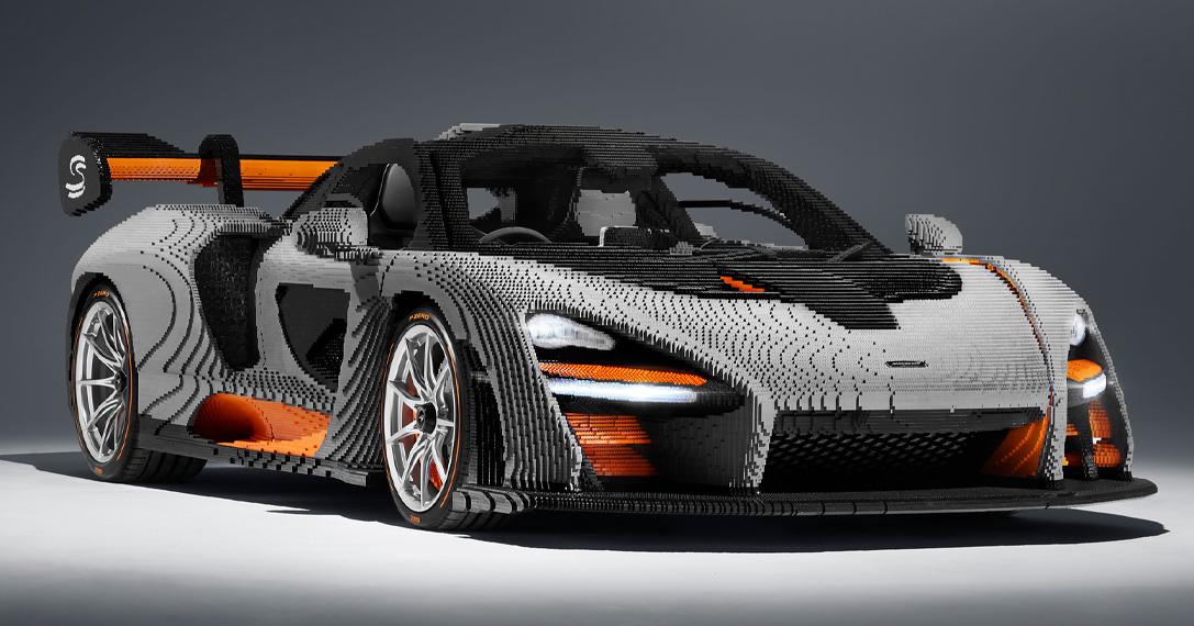 Lego Full Size Mclaren Senna Hiconsumption