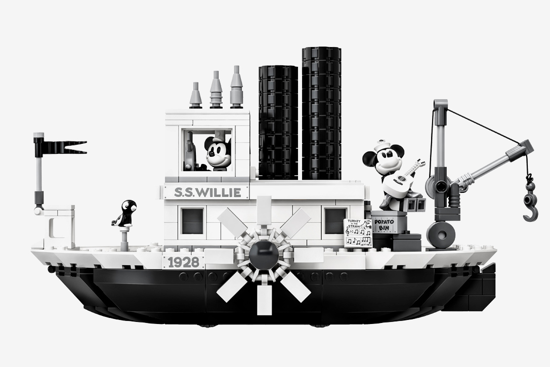 LEGO Steamboat Willie Set