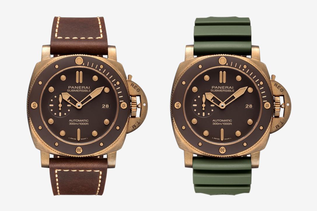 Panerai Submersible Bronzo PAM 968 Watch