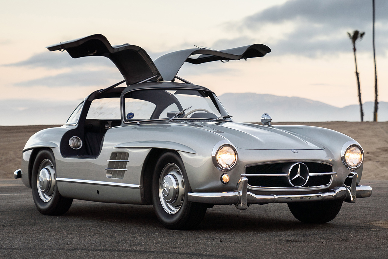 1955 mercedes benz 300 sl gullwing hiconsumption. Black Bedroom Furniture Sets. Home Design Ideas