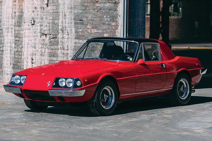 Auction Block 1967 Ferrari 330 Gtc Zagato Convertible Hiconsumption
