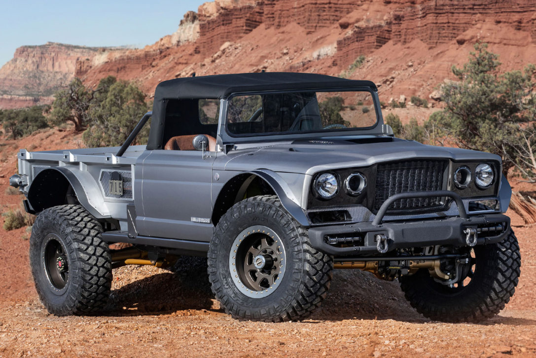 Jeep M Gladiator Five Quarter Concept Hero X on Dodge Hemi Crate Engine