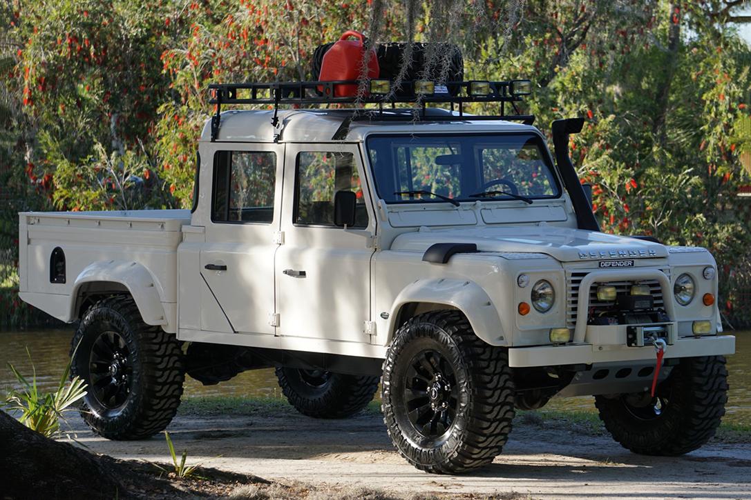 Auction Block: 1993 Land Rover Defender 130