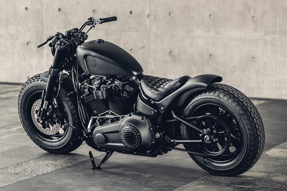 2018 Harley-Davidson Fat Bob 107 'Mighty Guerrilla ...