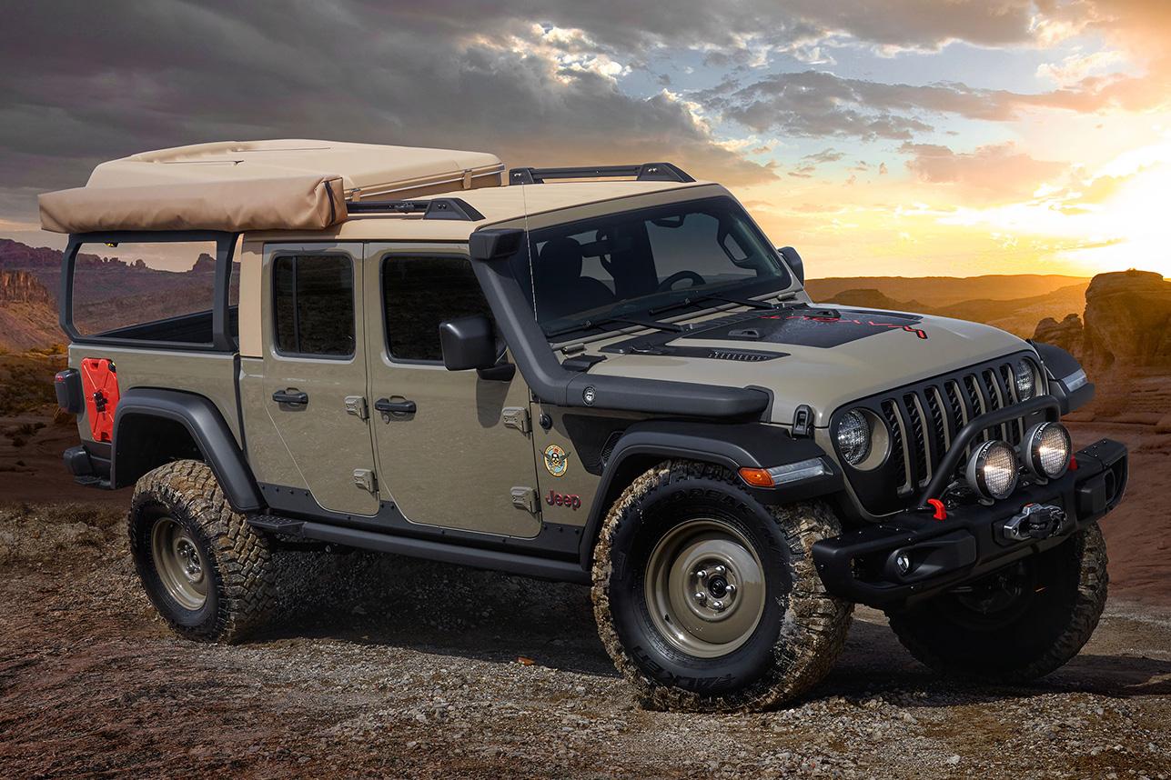 2019 Jeep Gladiator 'Wayout' Concept