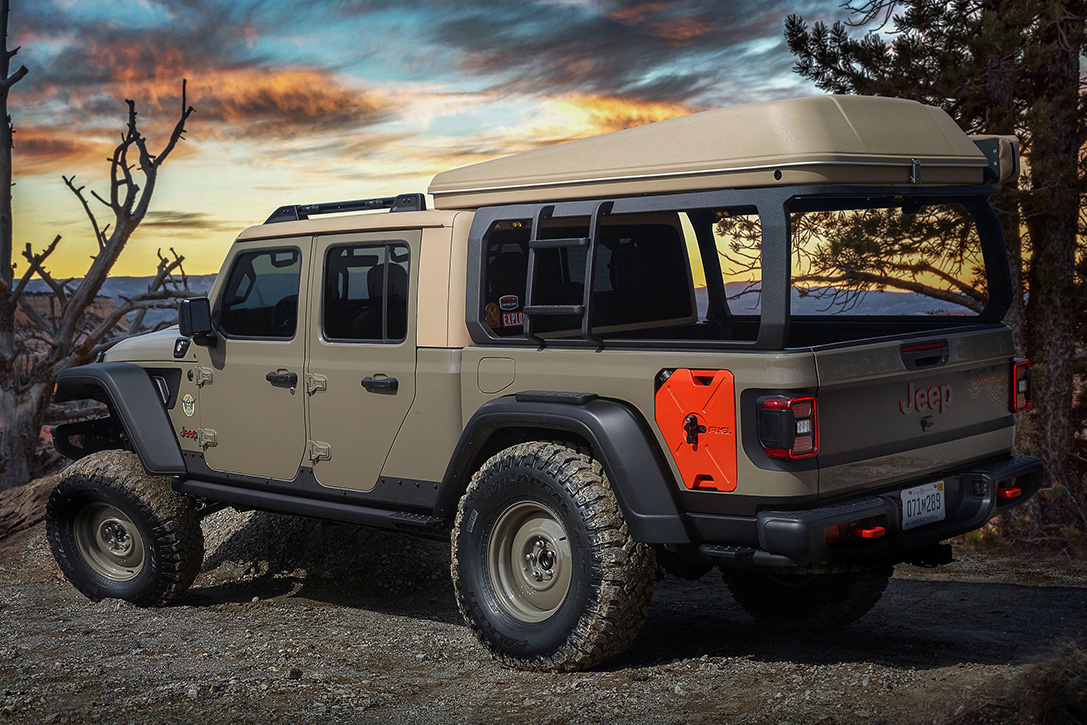 2019 Jeep Gladiator Wayout Concept Hiconsumption