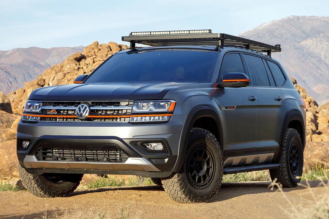 2019 Volkswagen Atlas Basecamp Concept Hiconsumption