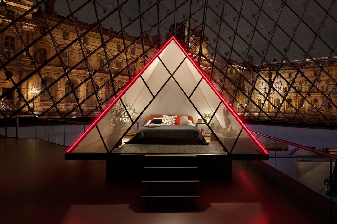 Airbnb Night At The Louvre