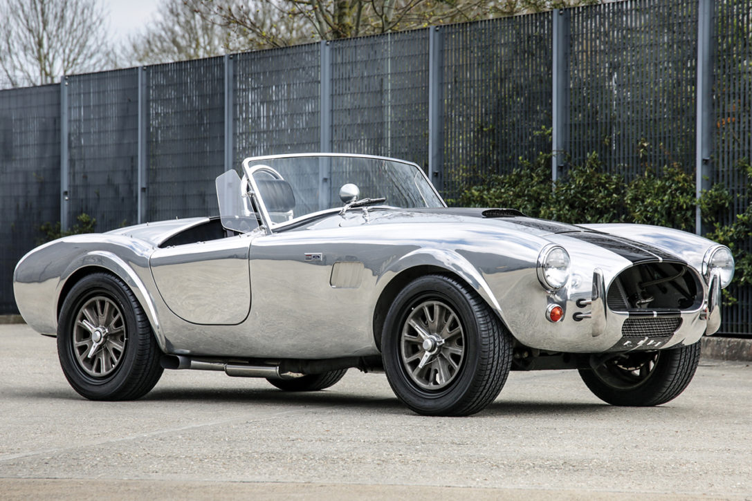 Auction Block: 1965 Shelby Cobra 289 'CSX 8001' | HiConsumption