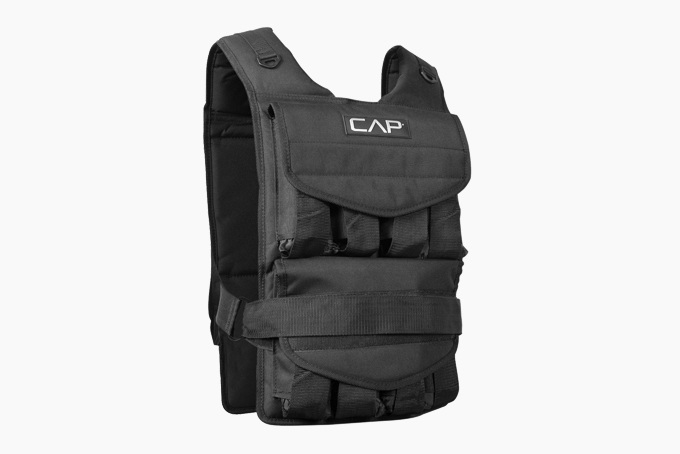 Weighted Vest Fitness Exercise Vest 110 lbs