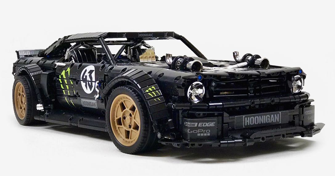 lego technic ford mustang hoonicorn hiconsumption. Black Bedroom Furniture Sets. Home Design Ideas