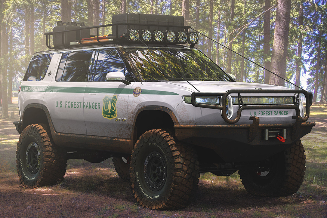 Rivian R1S U.S. Forest Ranger Edition Electric SUV