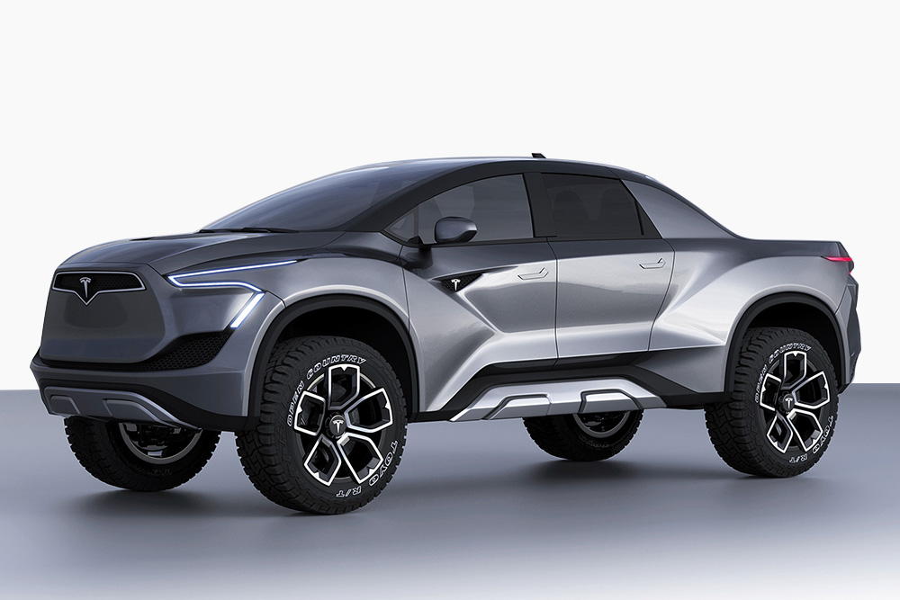 2019 Tesla Model U Electric Pickup Truck 2019 tesla t