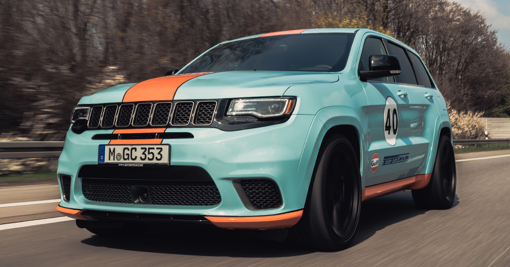 Jeep Grand Cherokee Trackhawk Gulf 40 By GeigerCars ...