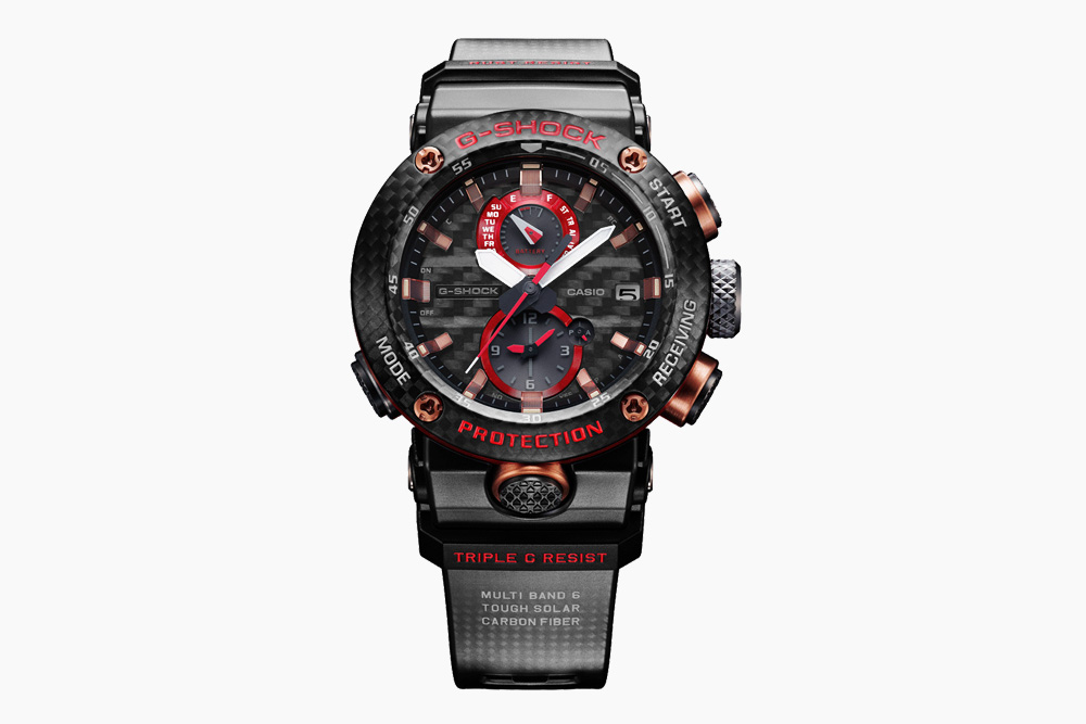 0d71d3386a6e This Solid Carbon Fiber   Titanium G-Shock Watch Is Nearly Indestructible