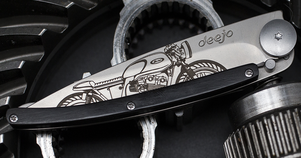 Create Your Own Blade With Deejo's 37G Custom Knife Program