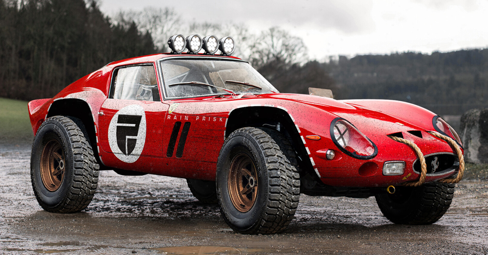 Ferrari 250 Gto Off Road By Rain Prisk Hiconsumption