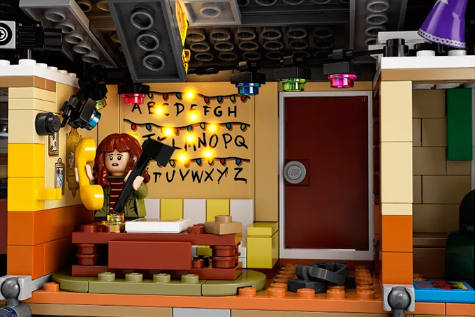 Lego Netflix Stranger Things The Upside Down Set