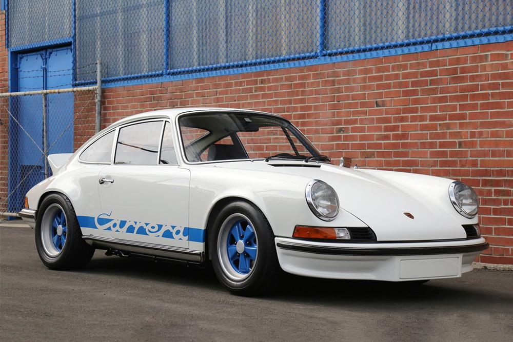 Auction Block 1973 Porsche 911 Carrera Rs Hiconsumption