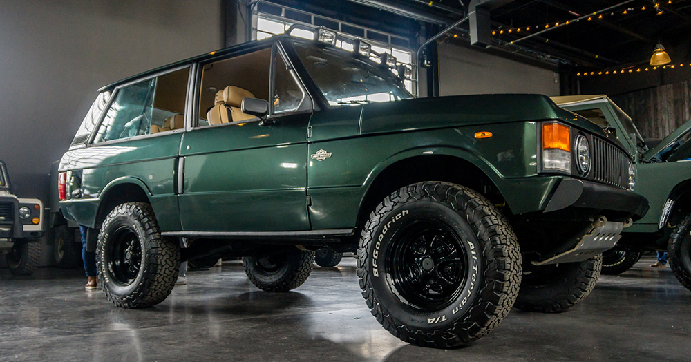 1974 Range Rover Classic By Legacy Overland | HiConsumption
