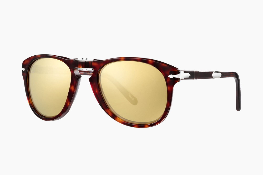 a9add601beec These Steve McQueen Persol Sunglasses Have 24K Gold-Plated Lenses