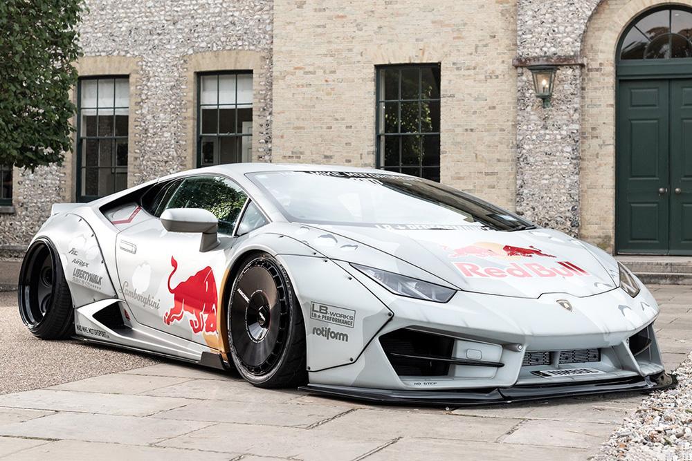 Red Bull nodigt driftkampioen 'Mad' Mike uit om met 800 pk sterke Lamborghini Huracán te spelen