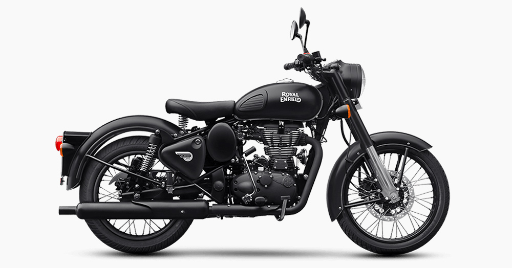 Royal Enfield Reveals A Sinister 'Stealth Black' Motorcycle