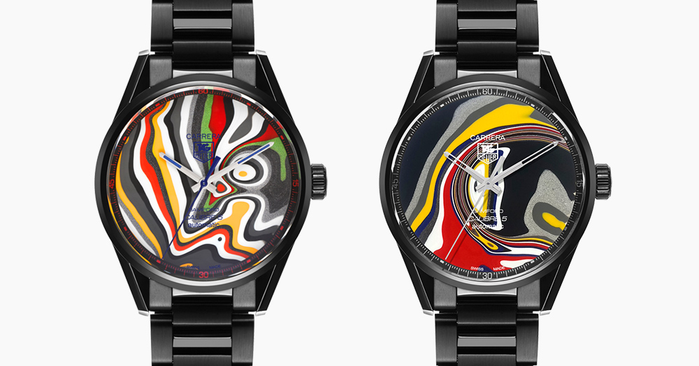 This Watch Dial Features Vintage Paint From Ford's Detroit Factory