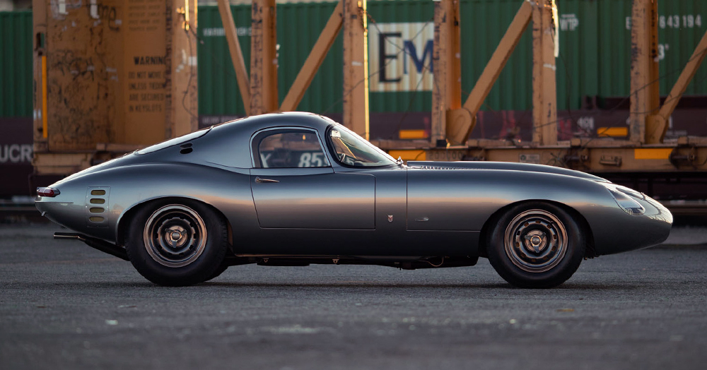 This Masterpiece 'Low-Drag' Jaguar E-Type Took 8 Years To Build