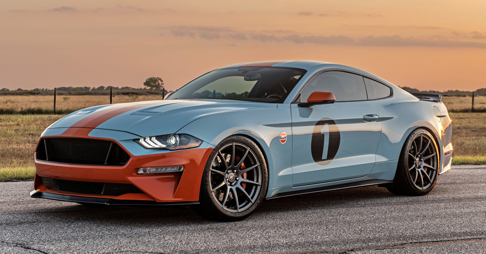 Ford Is Building A Gulf Oil-Approved 808HP Heritage Mustang