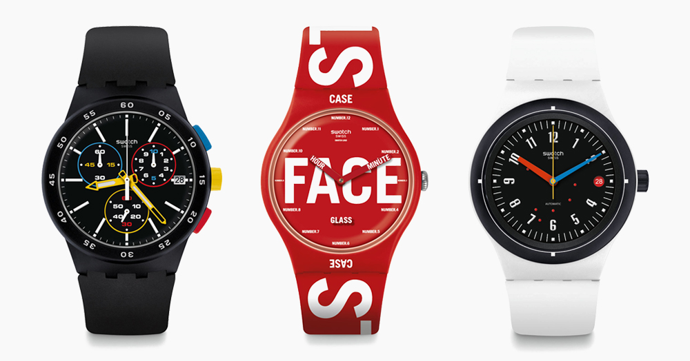 Swatch Celebrates 100 Years Of Bauhaus With These Watches