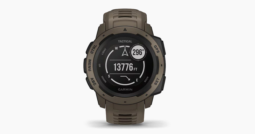 Garmin's Instinct Tactical Edition Watch Was Built For HALO Jumps