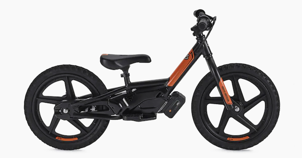 Start Them Young With Harley's 11MPH Electric Balance Bike