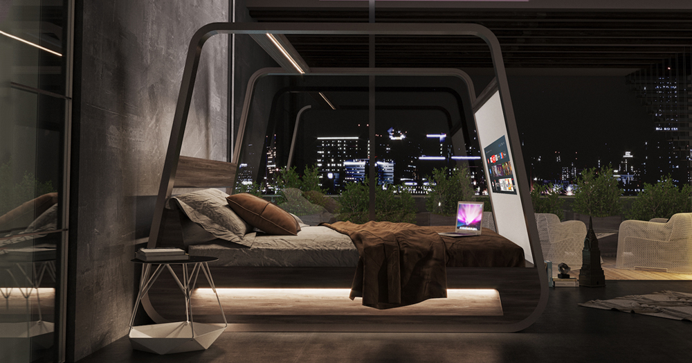 The HiBed Is A Fully-Connected High-Tech Relaxation Station