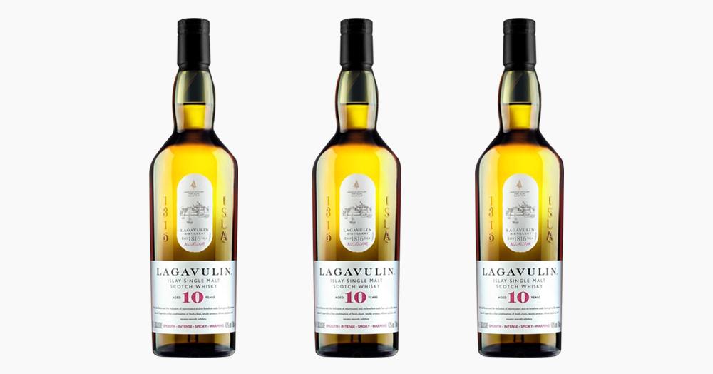 Lagavulin Released An Ultra-Exclusive 10-Year Single Malt Scotch