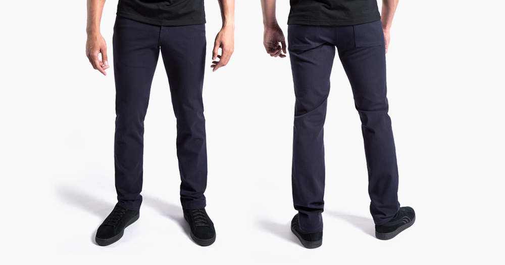 Mission Workshop's Jeans Are Now Stretchy & Water-Repellant