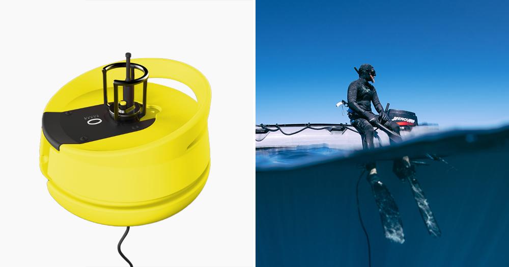 This Innovative Buoy Creates A 26′ Safe Zone That Wards Off Sharks