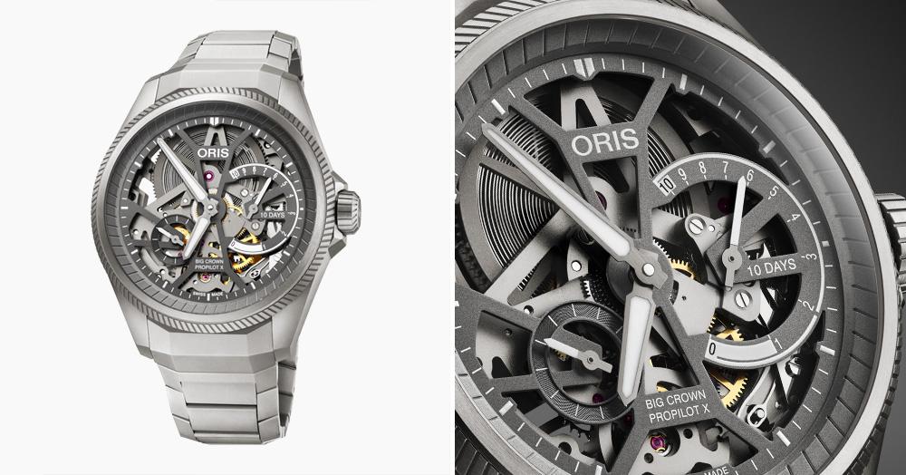 Oris Returns To Simplicity With The Big Crown ProPilot X Calibre 115 Watch