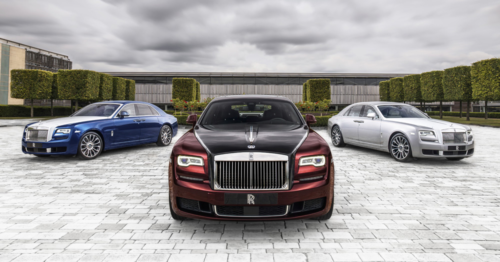 The Limited Edition Zenith Collection Is Rolls-Royce's Epic Ghost Finale