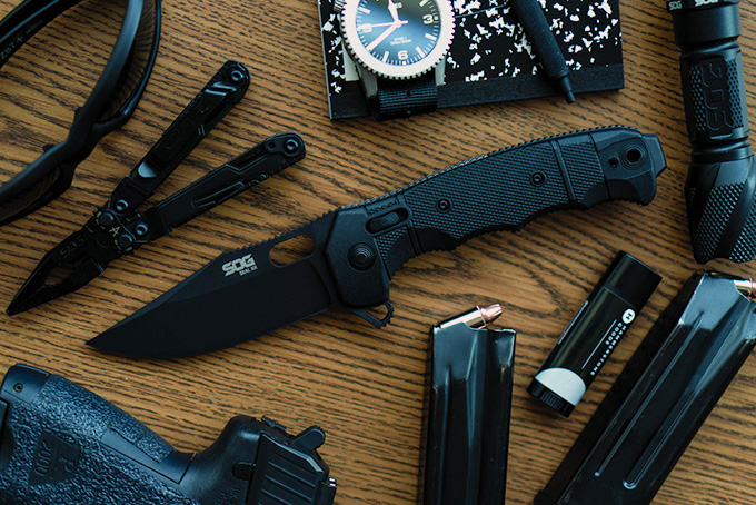 SOG SEAL XR Folding Knife | HiConsumption