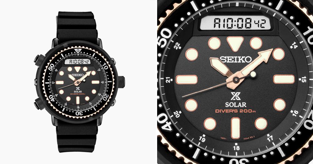 Seiko Resurrects Schwarzenegger's Dive Watch From 'Predator'